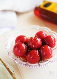 『【トマトよりおいしい】トマトのはちみつポン酢マリネ』