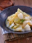 旨味じんわり*白菜の卵とじ*無水調理