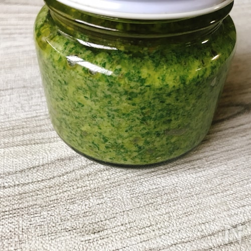 塩麹紫蘇ジェノベーゼ (チーズ、松の実不使用)