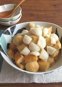 『旨味たっぷり☆簡単和総菜◎いかと里芋と厚揚げ煮』