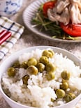 炊飯器で簡単♪ひと手間でふっくら柔らか美味しい豆ごはん