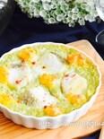 タラとアボカド豆腐タルタルグラタン*春色