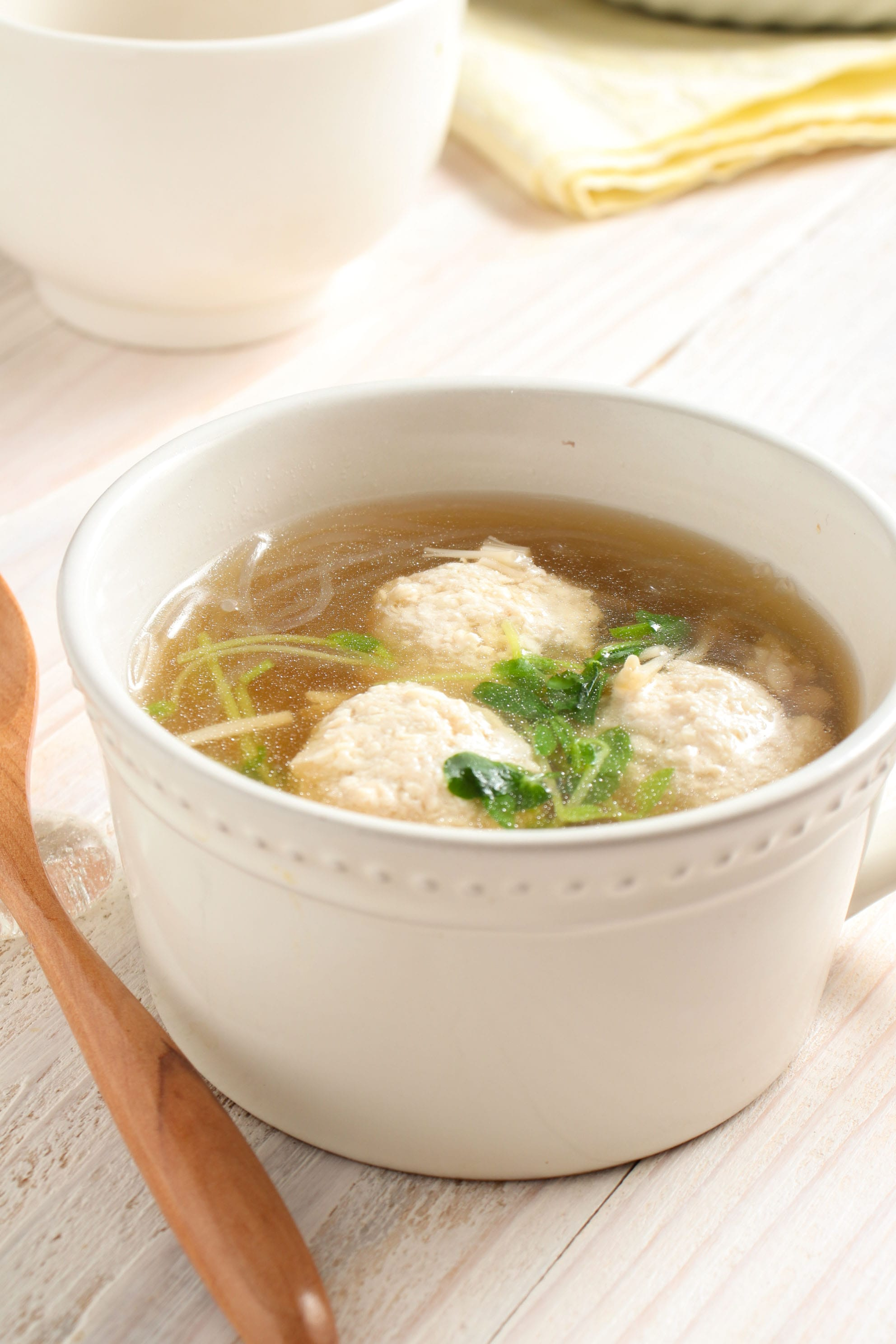 団子 スープ レシピ 肉