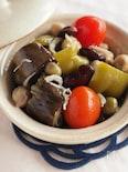 豆とじゃこ入り和風ラタトゥイユ