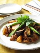 豚肉と長いものピリ辛味噌炒め