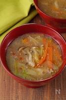 生姜とねぎでポカポカ!野菜のうま味たっぷり中華風とろみスープ