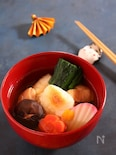 シンプルおいしい 関東風雑煮