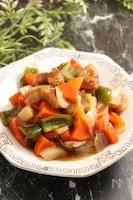 レンジで簡単!野菜たっぷり酢豚