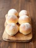 材料4つ!基本のシンプル丸パン