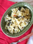 高菜とネギのペペロンチーノ