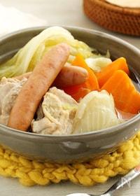 『鶏肉とトロトロ野菜の和風ポトフ』