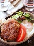 お野菜たっぷり♡あと引く旨さオニオンソースの和風ロコモコ丼
