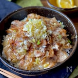 焼肉屋さんのネギ塩豚カルビ丼