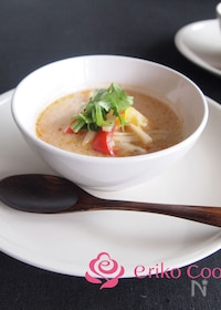 『お鍋にも!!エスニックココナッツスープ』