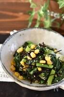 小松菜とひじきのナムル【作り置き】