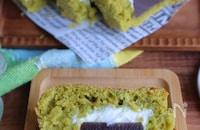 生地作り3分!ようかんとクリチの抹茶パウンドケーキ