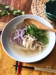 『簡単すぎる本格味♡』ささみと水菜のフォー