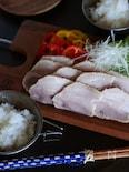 自家製スーチカー(豚肉の塩漬け)