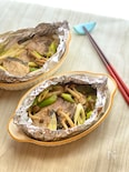 青魚を食べて健康に*ぶりと野菜のホイル焼き
