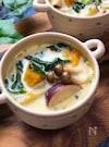 ほっこり温まる優しい甘さの具沢山ミルク味噌スープ