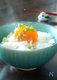 『卵黄の醤油麹漬け』