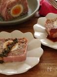 簡単2つのソースで食べる!たっぷりきのこのミートローフ