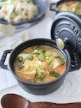 レンジで5分!豆腐キムチスープ