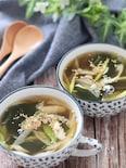 5分で完成!さっぱり美味しい♡わかめとねぎの和風スープ
