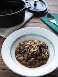 夏野菜をこっくり煮込む♡牛肉のシチリア風煮込み