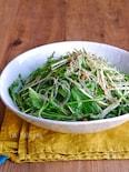 水菜とツナの旨ぽん春雨サラダ