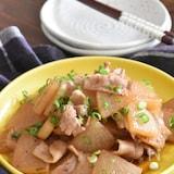 短時間で旨味がしみしみ~豚バラ大根のうま煮【冷凍・作り置き】