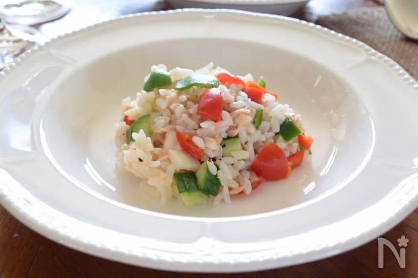 おしゃれな「ライスサラダ」を作ろう!基本レシピ&人気アレンジ10選の画像