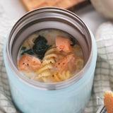 【5分】鮭フレークだから簡単・時短♪豆乳クリームパスタ
