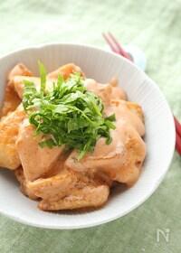 『鶏むね肉のジューシー味噌鶏マヨ』