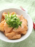 鶏むね肉のジューシー味噌鶏マヨ