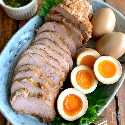 【私の永久保存版】煮豚と味玉(と、絶品煮汁活用)