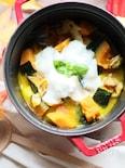 今日はイタリアンで♡かぼちゃの煮物