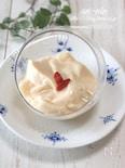 なんちゃって杏仁豆腐。