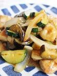 鶏肉と野菜の味噌炒め