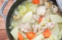 じゃがいもと鶏肉の塩ポトフ♪野菜たっぷり!