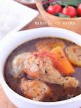 圧力鍋でトロトロ*手羽元とゴロっと野菜のスープカレー