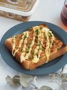 5分。なめたけの絶品マヨトースト【簡単・時短・朝食】