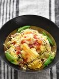 超節約だけど大満足♡ツナと白菜とふんわり卵のエスニック丼