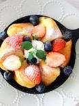 オーブンにおまかせ<らくウマ>ベーグルdeフレンチトースト♡