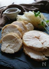 『焼肉のたれで簡単レンチンはやうま〜鶏むね肉のチャーシャー』