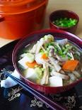 冷凍野菜で簡単!豆腐たっぷりけんちん汁*時短作り置き