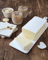 ヨーグルトの白いチーズテリーヌ