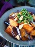 厚揚げととろけるなすの甘辛韓国風炒め【ご飯が進み過ぎます】