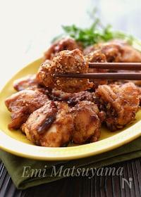 『*バルサミコ酢鶏*』