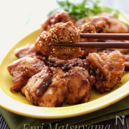 *バルサミコ酢鶏*